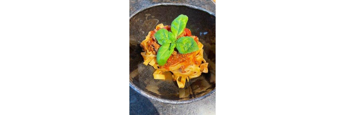 Spaghetti Bolognese mit ME-TO-SA ( Mediterranes Tomaten Salz ) - Unperfekt Perfekt