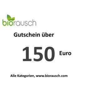 150 Euro Gutschein: biorausch.com