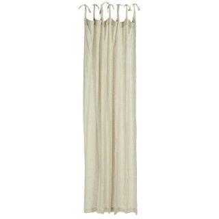 IB Laursen ApS - Vorhang mit 7 Bändern natur