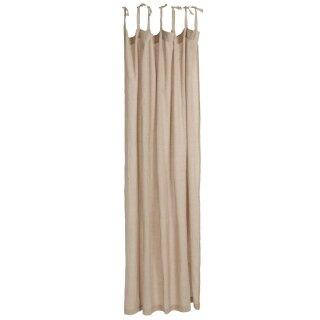 IB Laursen ApS -Vorhang m/7 Bändern hellrosa