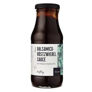 WAJOS - Balsamico-Röstzwiebel Sauce 245ml STEFFIS LIEBLINGS SAUCE