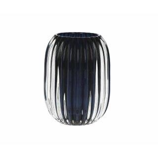 """Pomax - Teelichthalter """"STERA"""" dunkelblau Durchmesser 9,5x13cm"""