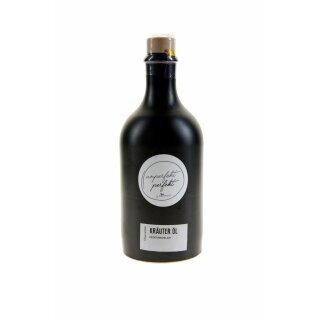 UNPERFEKT PERFEKT - Kräuter Öl mediterane Art 500 ml in Steinzeug