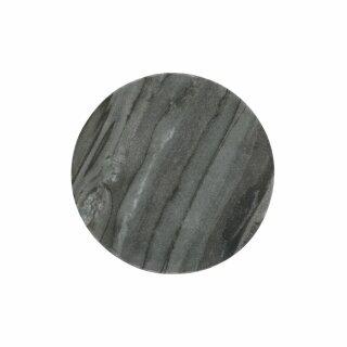 Pomax - MARMAR - COASTER - MARMOR - DIA 15 X H 1,5 CM - SCHWARZ