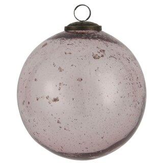 IB Laursen ApS - Weihnachstkugel Glas rosa