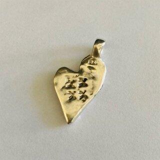 Schmuckbekenntnis - Herzanhänger aus Silber