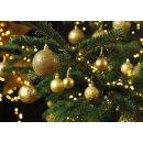 G. Wurm -Weihnachtskugel-Set gold 111 Stück