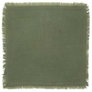 IB Laursen ApS -Stoffserviette doppelt gewebt grün