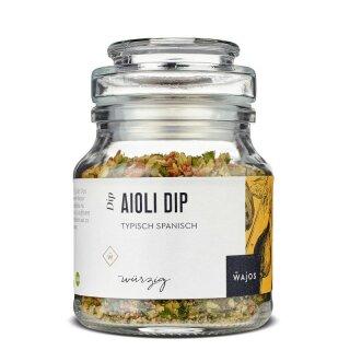 WAJOS - Aioli Dip-Typisch Spanisch 115 g (Vegan)