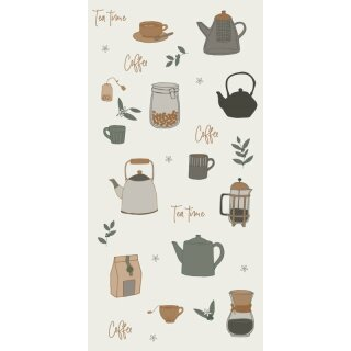 "IB Laursen - Serviette ""Tea Time/Coffee"" (16 Stk)"