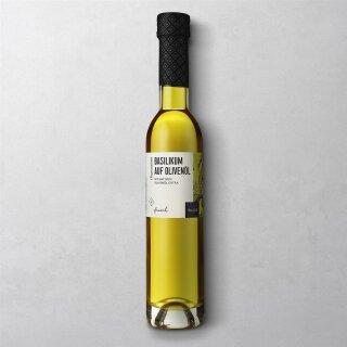 Wajos - Basilikum auf Olivenöl 100ml