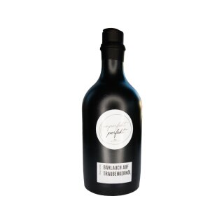 Unperfekt Perfekt - Bärlauch auf Traubenkernöl (Würzöl, 500ml) in Steingut