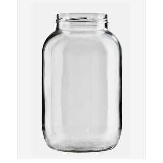 UNPERFEKT PERFEKT - Schraubglas 3400ml mit Deckel 6er Pack