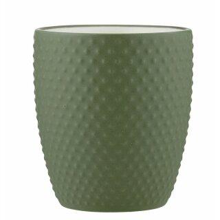 """Biorausch - Ladelle """"textured Mug"""" salbeigrün"""