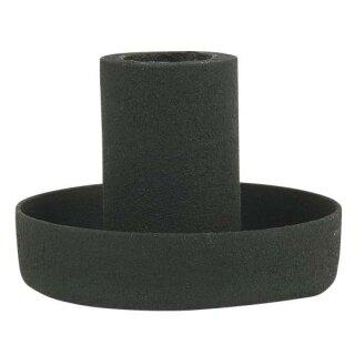 IB Laursen ApS - Kerzenhalter für dünne Stabkerzen schwarz H: 4 Ø: 5