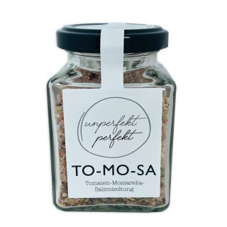 UNPERFEKT PERFEKT - TO-MO-SA (Tomaten Morzarella Salz) 170 g