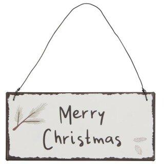 IB Laursen ApS - Metallschild Merry Christmas