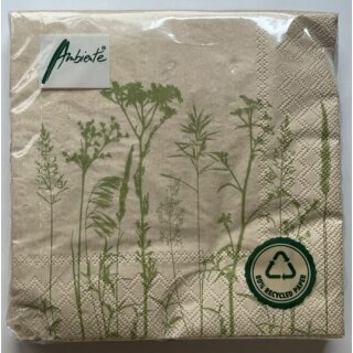 Biorausch - Recycled Leaves And Herbs FSC Mix Pflanzen