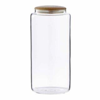 "Vorratsglas Dose ""Cristella"" transparent mit Deckel (1 Stk, 1700ml, H=24cm)"