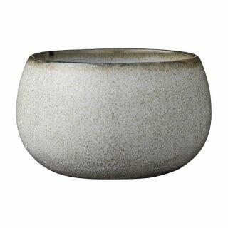 "Keramik-Schale Schüssel ""Amera"", grau, 125ml (1Stk)"